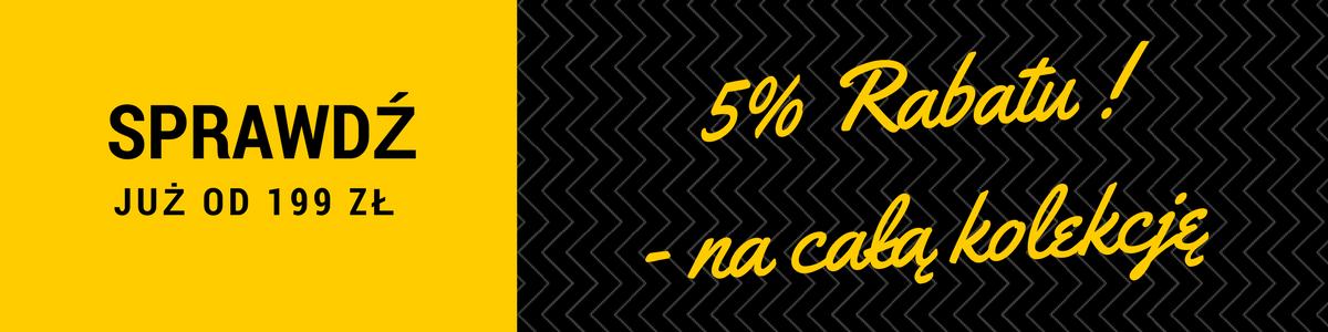 Rabat 5%